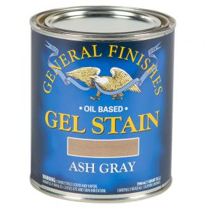 General Finishes Ash Gray Gel Stain Quart