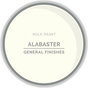 General Finishes Milk Paint ALABASTER Gallon