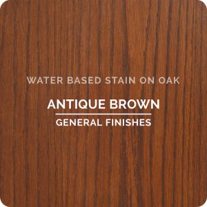 General Finishes Water Base Stain ANTIQUE BROWN