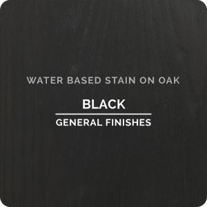General Finishes Water Based Stains BLACK