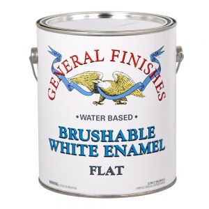 General Finishes Brushable Gallon GFEF.F.1 Flat White