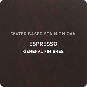 General Finishes Water Based Stains ESPRESSO