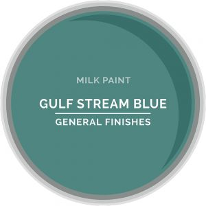 General Finishes Milk Paint GULF STREAM BLUE Quart