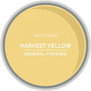 General Finishes Milk Paint HARVEST YELLOW Quart