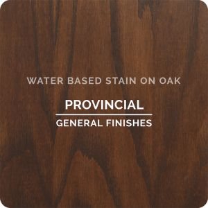 General Finishes Water Base Stain PROVINICAL