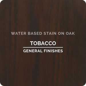General Finishes Water Base Stain TOBACCO 1 Pint