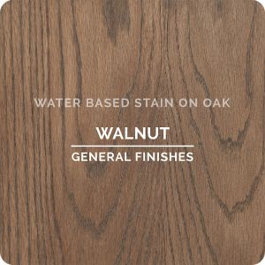 General Finishes Water Based Stains WALNUT