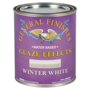 General Finishes Water Based Glaze Effects Winter White