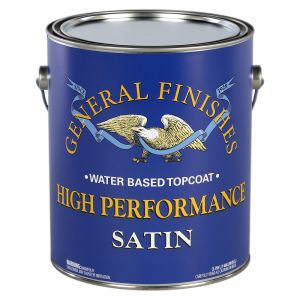 General Finishes Water Based High Performance Polyurethane Top Coat Satin Gallon