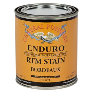 General Finishes Water Based RTM Stain Bordeaux