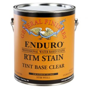 General Finishes Water Based RTM Stain Tint Base Clear Gallon