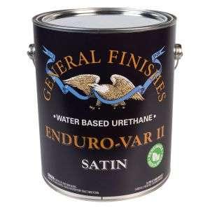 General Finishes Water Based Enduro-Var Satin Gallon