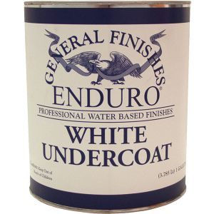 General Finishes Water Based Undercoat Primer White Gallon
