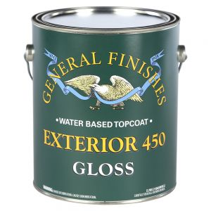 General Finishes Exterior 450 Clear Gloss 5 Gal.