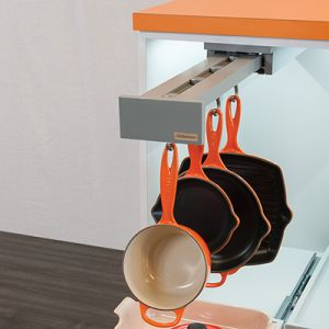 Glideware with Blum TANDEMS Gray