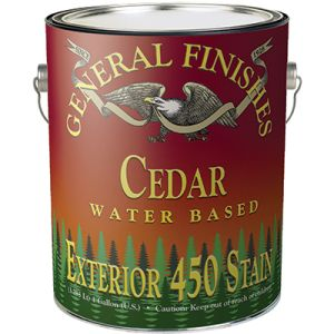 General Finishes Water Based Exterior 450 Stain