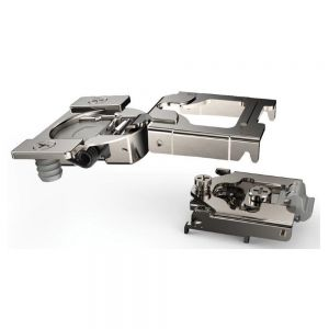 Hettich Optimat Clip-On Two piece face frame hinge w/ integrated Silent System.