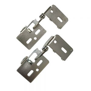 "Youngdale 1/2"" Overlay Low Profile Nickel Hinge"