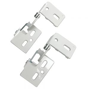 """Youngdale 1/2"""" Overlay Low Profile White Hinge"""