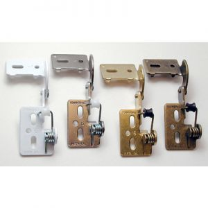 "Youngdale 1/2"" Overlay Low Profile Hinge"