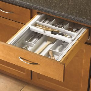 KV Double Tiered Utensil Tray