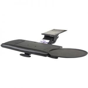 "KV SD-10-21 Articulating Keyboard Arm with 21"" Tray with Mouse Pad"