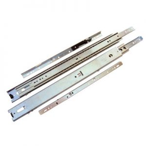 KV 6505 Overtravel 125 lb. Drawer Slide with Quick Rail Disconnect