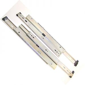 "KV 8525 Overtravel 175 lb. Drawer Slides for up to 36"" Lateral Files"