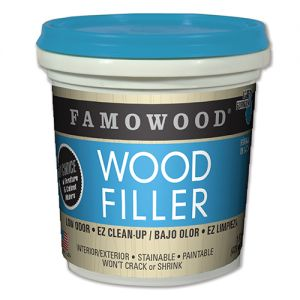 Famowood Latex Wood Filler Golden Oak