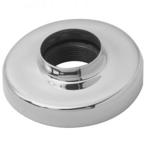"""Lavi 2"""" Satin Stainless Steel Flange Canopy"""