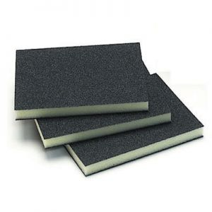 "Mirka Waterproof Double Sided 3-3/4"" x 4-3/4"" x 1/2"" Sponges"