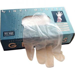 Vinyl Gloves X-Large 100 Per Box