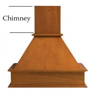 Omega National 30x31 Trimmable Chimney Maple