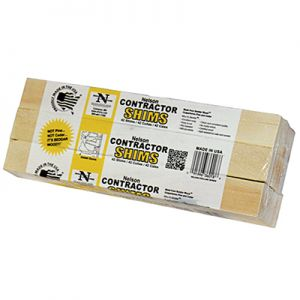 Nelson Wood Shims Wood Shim 12in 42 Ct/Pkg
