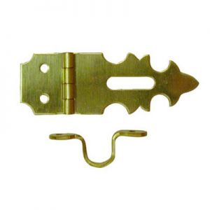"National Hardware Solid Brass 5/8"" X 1-7/8"" Miniature Hinge"