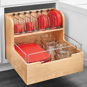 Rev-A-Shelf 4FSCO Food Storage Container Pullout Organizer