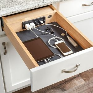 Rev-A-Shelf Charging Drawer 120V