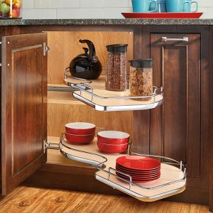 Rev-A-Shelf Cloud Double Tier Blind Corner