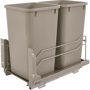 Rev-A-Shelf Double Demountable 27Q Waste bin Unit with Softclose