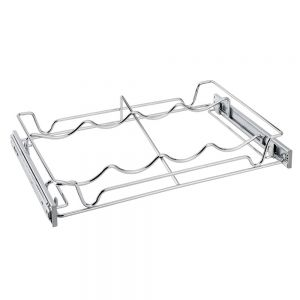 Rev-A-Shelf 5WBR-18-CR WineRack PullOut Wire 18W x 14D Chrome