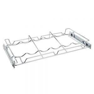 Rev-A-Shelf 5WSCR-24-CR-1 WineRack PullOut Wire 24W x 14D Chrome