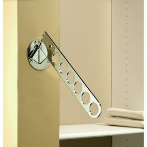 Rev-A-Shelf SideLines Laundry Valet Chrome