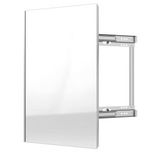 Rev-A-Shelf SideLines CMSL-1424-SM Pull Out Mirror Soft Close