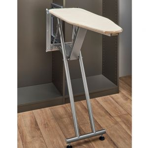 Rev-A-Shelf SideLines Pop Up Ironing Board with Soft Close