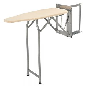 Rev-A-Shelf Sidelines CSWIBSL-14-SM Deluxe Swivel Ironing Board with Soft Close
