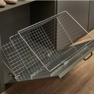 Rev-A-Shelf CTOHBSL-211419-CR Tilt-Out Hamper Basket 21Wx14D CHR