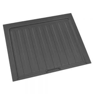 """Rev-A-Shelf Drip Tray for Sink Base Cabinet Orion Gray 34-1/4"""" W"""