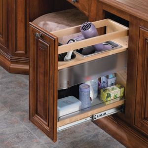 Rev-A-Shelf Pullout Grooming Organizer