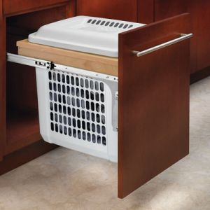 "Rev-A-Shelf Top Mount Hamper 15"" Wide"