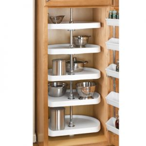 Rev-A-Shelf Premiere D-Shaped 5 Shelf Set